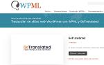 Traducción De Sitios Web De Wordpress Con Wpml