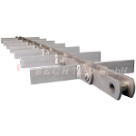 VAV double drag link chain