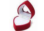 Heart shape jewelry box