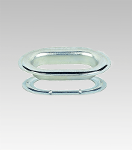 M-700 Oblong ( Oval ) Galvanized Grommets & Teeth Washers (250 Pcs Of Each)