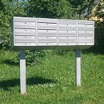 STAND FOR APARTMENT LETTER BOX