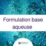 Formulation base aqueuse