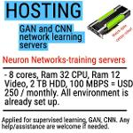 Power GPU physical server for neuron network learning (rent)