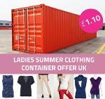 OFFERTA CONTAINER: Abbigliamento donna all'ingrosso UK