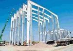 Freitragende Stahlhallenkonstruktion