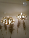 Lantern Bamboo Pendant Light