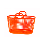 Large plastic mesh basket