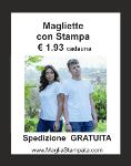 Maglietta economica bianca € 1.33