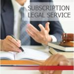 Subscription Legal services