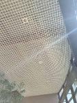 rénovation peinture plafonds résilles