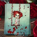 """""""Balançoire de l'amour"""" –  Carte Postale Illustrée"""