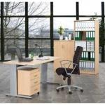 Komplettbüro- Einzelarbeitsplatz