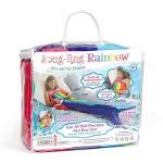Snug Rug Rainbow Mermaid Tail Blanket