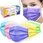 Type IIR Maske 3 katlı renkli Meltblown filtre kumaşlı