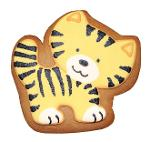 """Gingerbread """"BABY TIGER"""""""