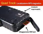 Localizzatore GPS Quad Track