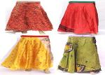 halter sarong silk sari skirt tube dress fabric skirt
