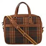 Jute Fabric Men Women Office Bag