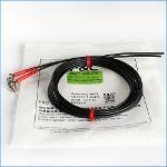 Right-angle optical fiber
