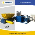Automatic scrap pepsi can baler compactor machine for sale