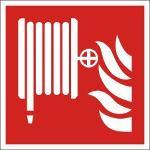 Brandschutzkennzeichnung, Löschschlauch, Lumipro