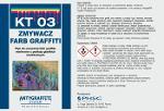 KT 03 - Zmywacz farb graffiti