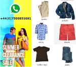 Summer Clearance Sale - Mens & Ladies clothing