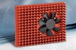 40 mm frameless fan for integrating in heat sink