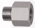 Thread adapter, Aluminium, ET 1/2 - 27 UNS, IT G 1/4, AF 17