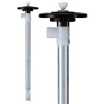 Pump tube Aluminium with impeller