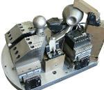 Zentrierspannvorrichtung für Anhängekupplung