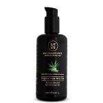 Aloe Vera Gel Organic 100% - 200 Ml Violet Glass Bottle