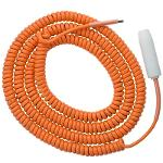 Coiled Grounding Cable with Socket, for EKK-3, EKN-3...