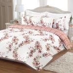 Cotton Eiva Rosa Duvet Cover Set