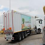 Top Loading Waste Compactor Semi-Trailer