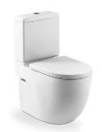 Stand-WC-Kombination kompakt Tiefspüler, mit MaxiClean /Set