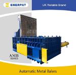 Heavy-Duty Automatic Waste Scrap Metal Baler for...