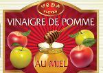 vinaigre de pomme au miel