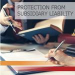 Protection from the subsidiary liability