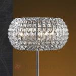 Lampadaire DIAMOND doté de cristaux