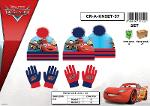 SET 2 PCS (HAT + GLOVES) SUBLIMATION - CARS