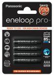 Batterie ministilo ricaricabili Eneloop Pro 4pz