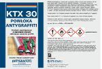 KTX 30 - Powłoka Antygraffiti  system trwały