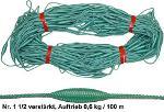 Float line 1,5 | buoyancy 0,6kg per 100m | 100m per bundle