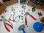 Sealing pliers