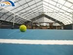 Big polygon concert or sports event tent customized...