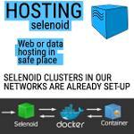 Server hosting for Selenium/Selenoid deployment
