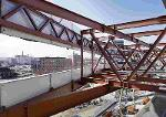 Stahlunterkonstruktionen für Betonfassaden