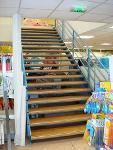 Escalier ERP pour mezzanine