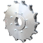 Sprockets for drop forged chain